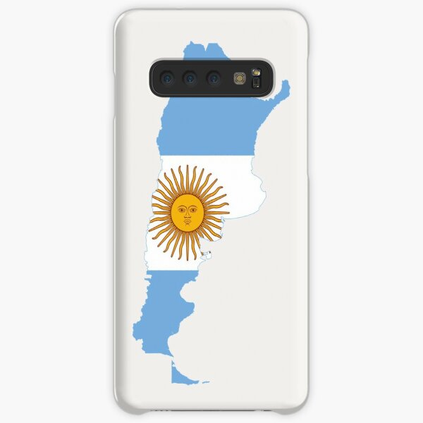 Flag Map of Argentina  Samsung Galaxy Snap Case