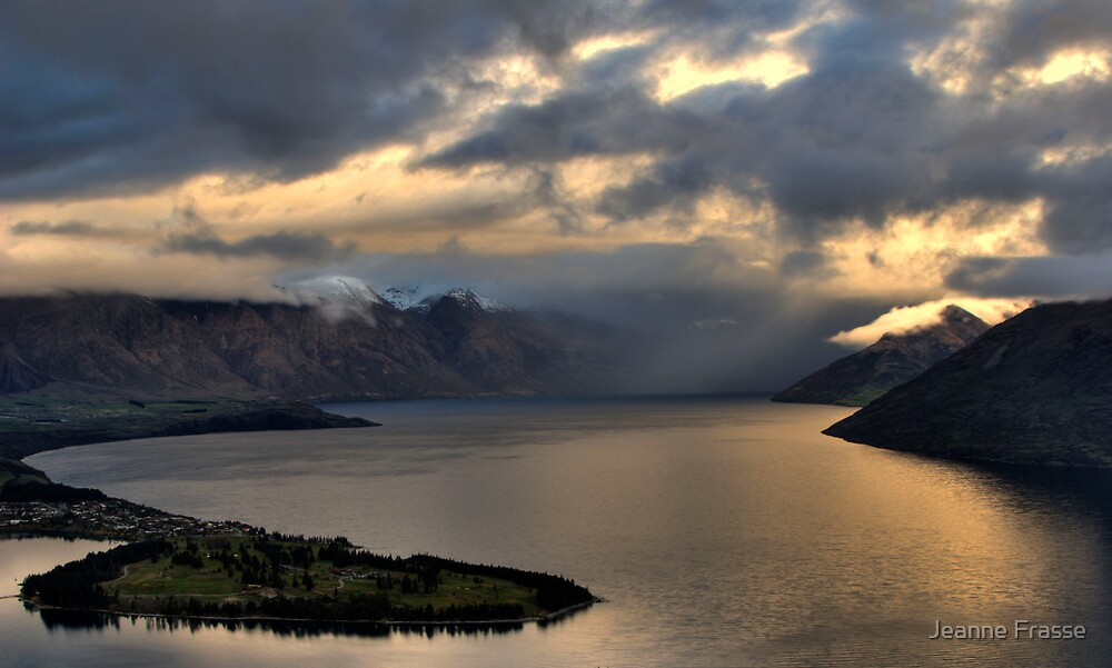 Queenstown View by Jeanne Frasse