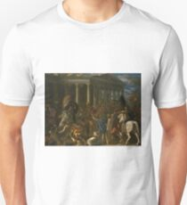 The Destruction and Sack of the Temple of Jerusalem by Nicolas Poussin T-Shirt