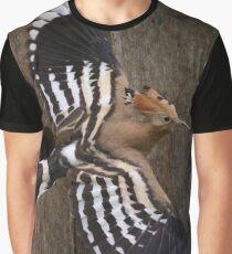 Hoopoe In Feuersbrunn, Lower Austria Graphic T-Shirt