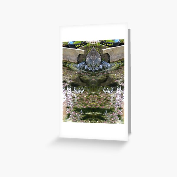 Northcote Community Gardens Fantasy 8 Greeting Card