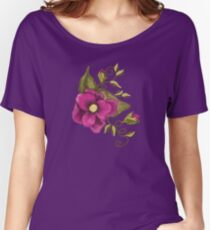 Flower, Buds & Vines Women's Relaxed Fit T-Shirt