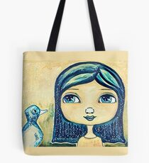 Rainy Day Friends Tote Bag