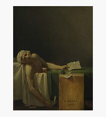 The Death of Marat by Jacques-Louis David Photographic Print