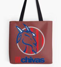 Soy chiva de corazon y voy con Nacion Chiva Tote Bag