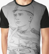 WWII Soviet Soldier Graphic T-Shirt