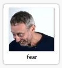 fear Sticker