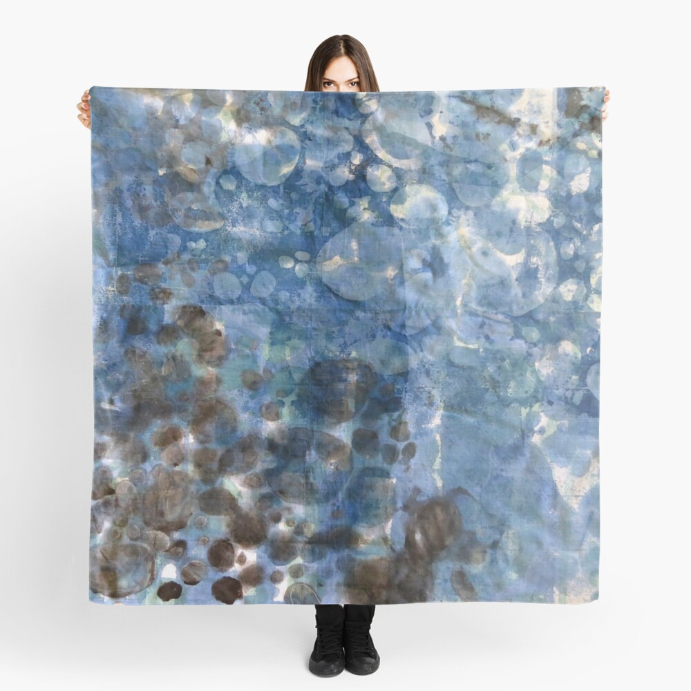 Dappled Light on Water Scarf