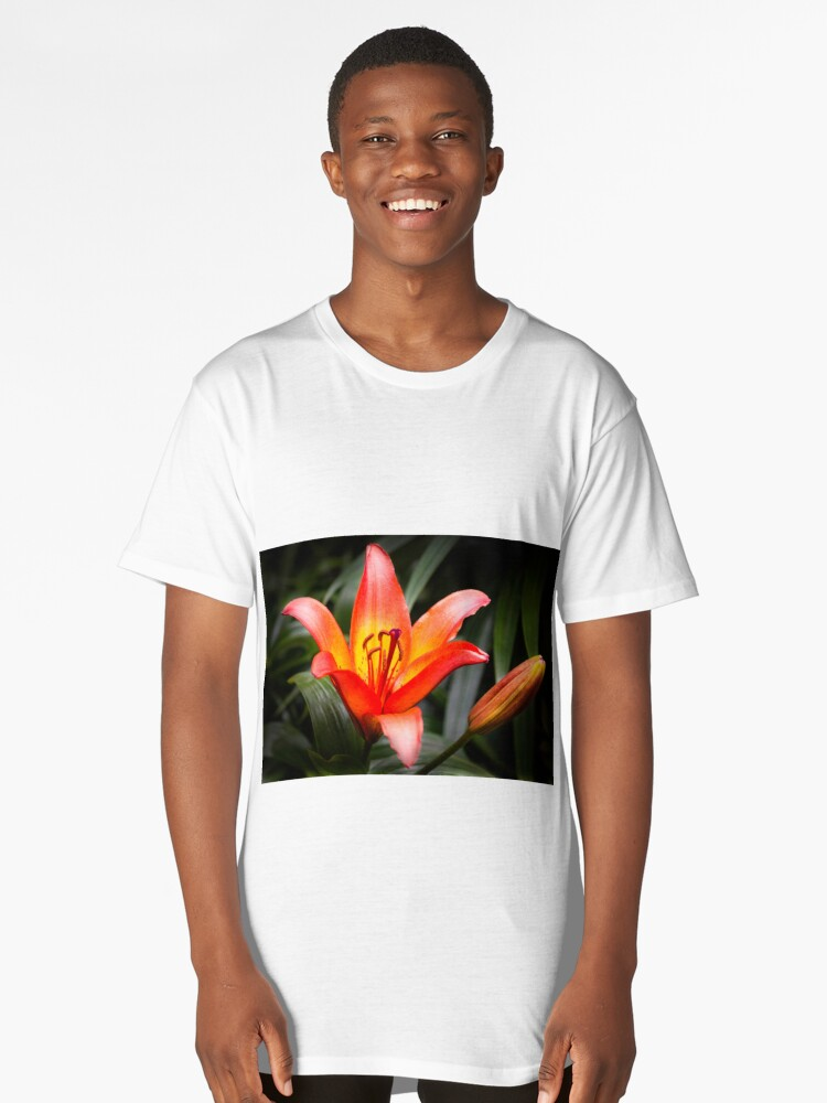 Lillies Long T-Shirt Front