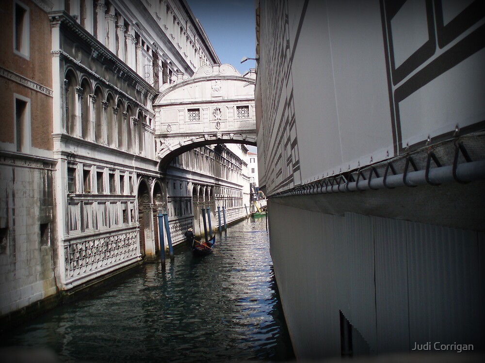 Bridge of Sighs ~ Venice by Judi Corrigan