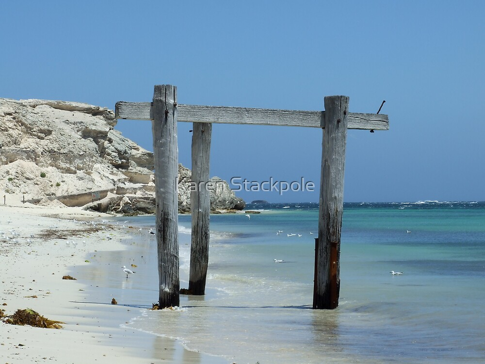 The Structure That Time Forgot - Peaceful Bay, South West, Western Australia by Karen Stackpole