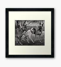 Harvey Weinstein's Animal Instincts. Framed Print