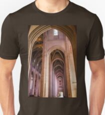 USA. California. San Francisco. Grace Cathedral. Interior. T-Shirt