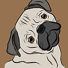 Pug Tilt  by rmcbuckeye