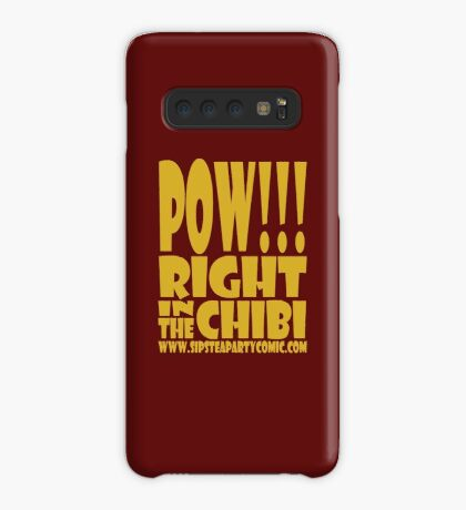 STPC: Pow!!! Right in the Chibi 1.0 Case/Skin for Samsung Galaxy