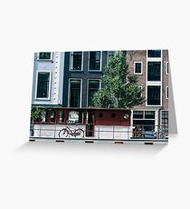 A Day in Amsterdam Greeting Card