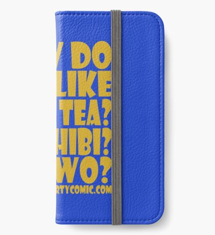 STPC: How Do You Like Your Tea? One Chibi? Or Two? 1.0 iPhone Wallet