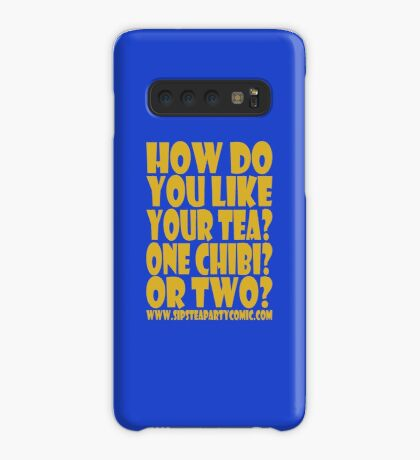 STPC: How Do You Like Your Tea? One Chibi? Or Two? 1.0 Case/Skin for Samsung Galaxy