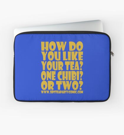 STPC: How Do You Like Your Tea? One Chibi? Or Two? 1.0 Laptop Sleeve