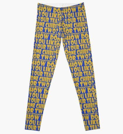 STPC: How Do You Like Your Tea? One Chibi? Or Two? 1.0 Leggings