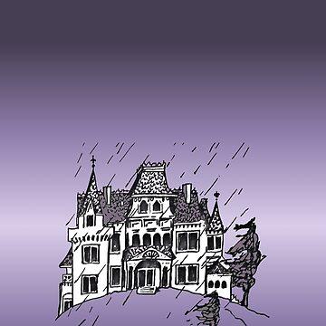 Haunted House by NANCYMAUERMAN