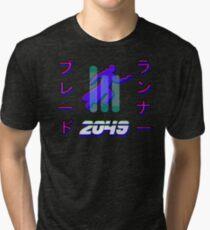Blade Runner 2049 3D Hologram Tri-blend T-Shirt