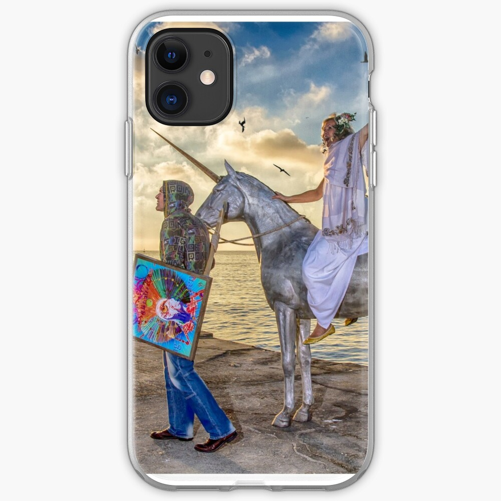 The triumphant return of Lady Art iPhone Case & Cover