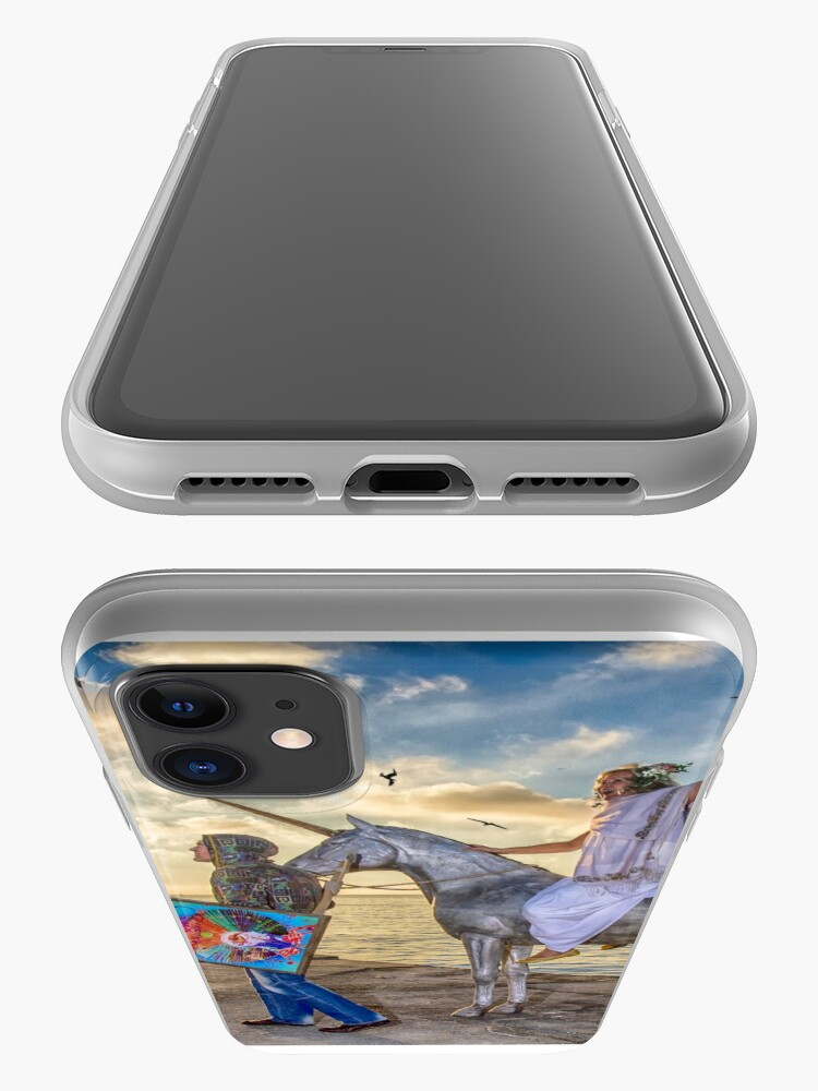 Alternate view of The triumphant return of Lady Art iPhone Case & Cover