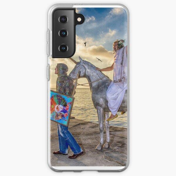 The triumphant return of Lady Art Samsung Galaxy Soft Case