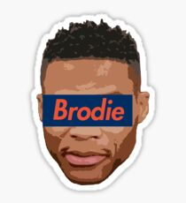 Brodie 1 Sticker