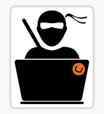 Ninja Programmer Sticker
