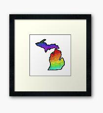 Michigan Framed Print