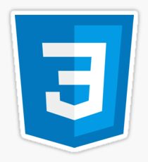 CSS: Cascading Style Sheets Sticker