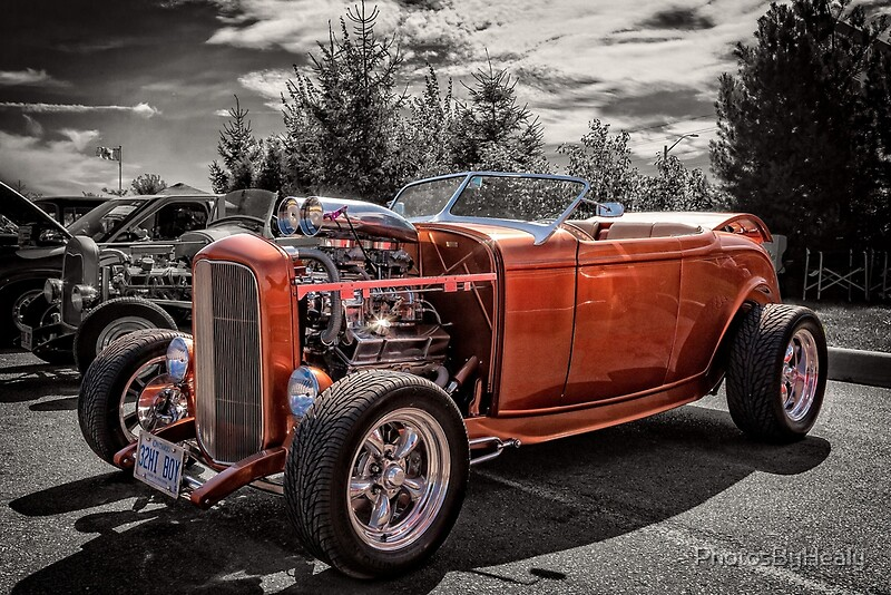 1932 Ford Hiboy Roadster by Photos by Healy