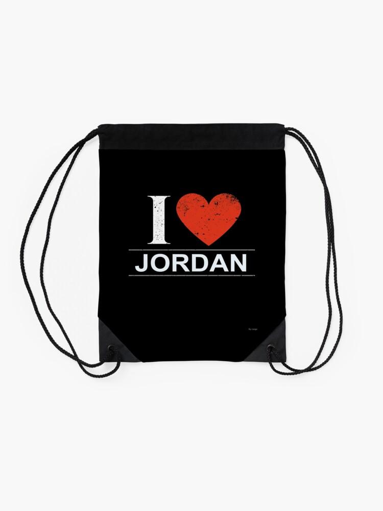 Alternative Ansicht von Ich liebe Jordanien-Geschenk für jordanischen JORDANIEN T-Shirt StrickjackeHoodie Iphone Samsung Telefon-Kasten Kaffeetasse-Tabletten-Kasten Turnbeutel