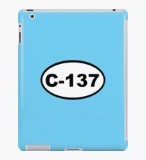 Dimension C-137 iPad Case/Skin