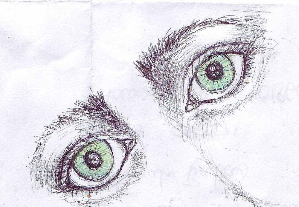 More Green Eyes by spotymonkey