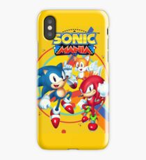 Sonic Mania Artwork iPhone Case/Skin