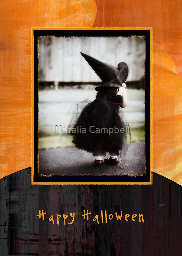 happy halloween pumpkin by Natalia Campbell