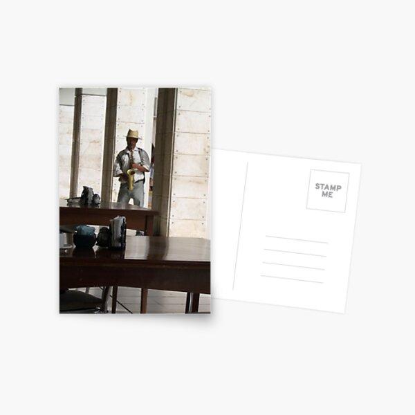 The Jazz Man Postcard