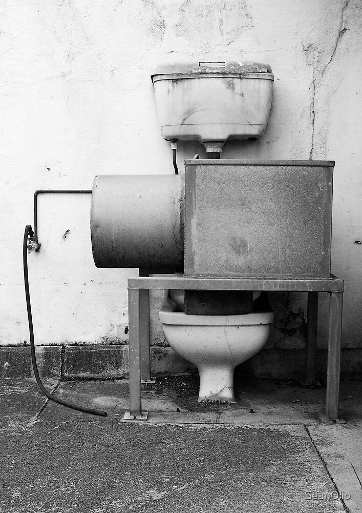 The Quintessence of a Prison Fountain by SeanOlio