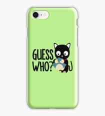 Bird and Cat Guess Who beautiful-Design iPhone Case/Skin