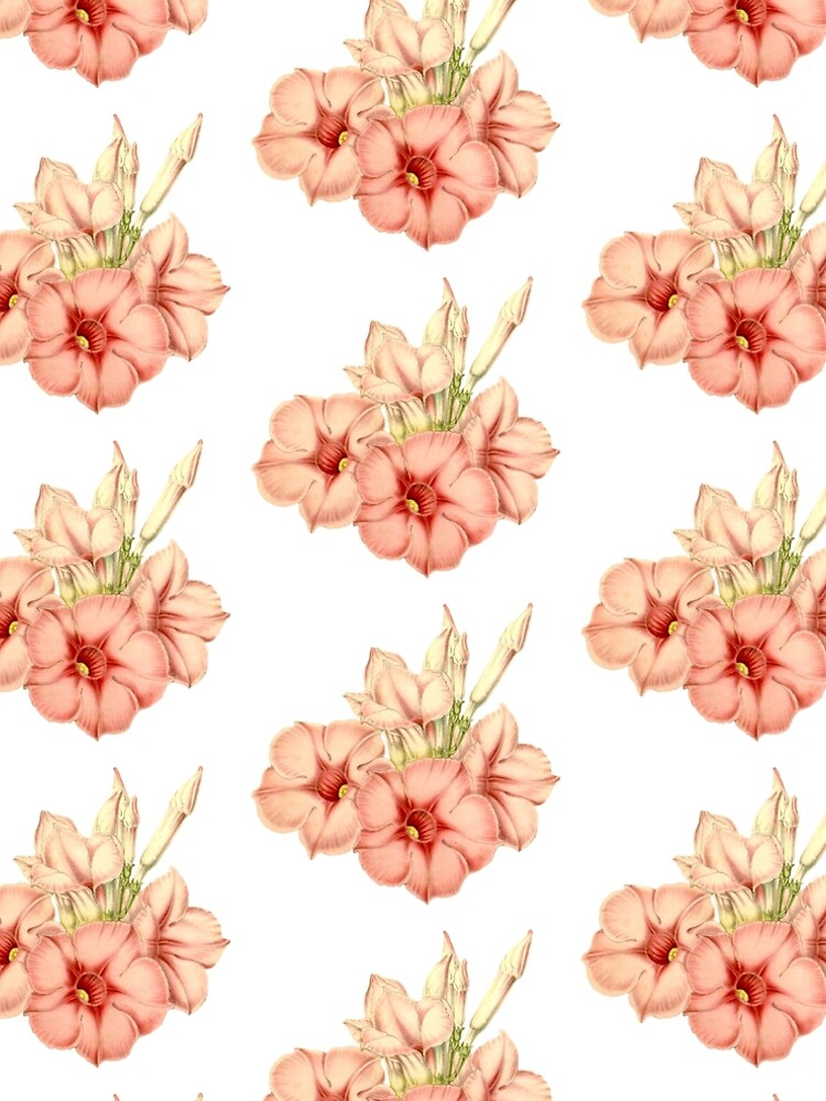 Pink Flowers Pattern by allovervintage