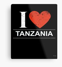 I Love Tanzania Gift For Tanzanian TANZANIA T-Shirt Sweater Hoodie Iphone Samsung Phone Case Coffee Mug Tablet Case Metal Print