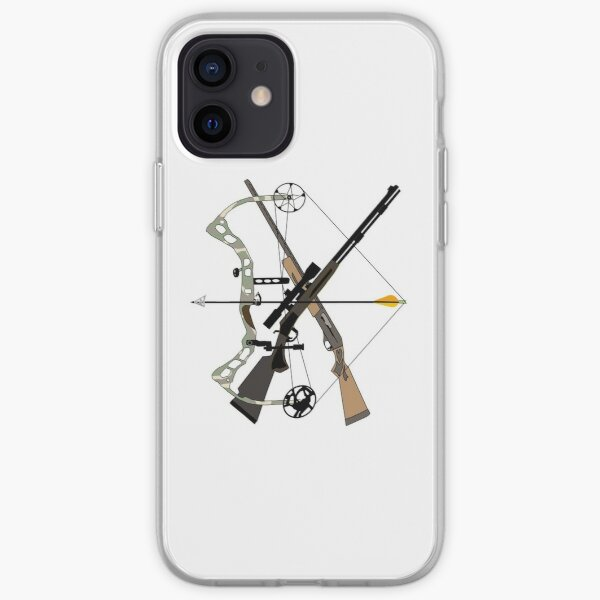Hunter Toys, Hunting, Weapons, Hunter Gifts iPhone Soft Case