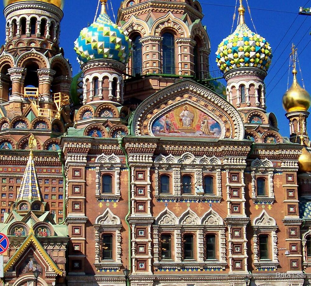 Russian Orthodox Church by Brita Lee