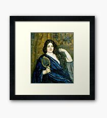Siberian Woman - Vasily Surikov Framed Print