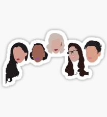 Ladies of Ladylike Sticker