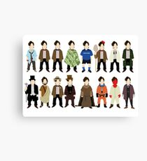 The Doctor's Wardrobe - Eleven Canvas Print