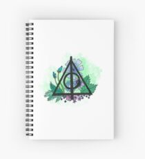 Deathly Hallows Spiral Notebook